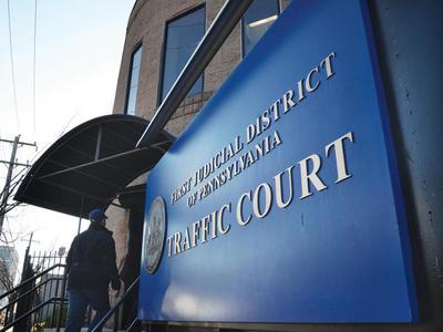 The court on Spring Garden Street Photo: RIKARD LARMA/METRO