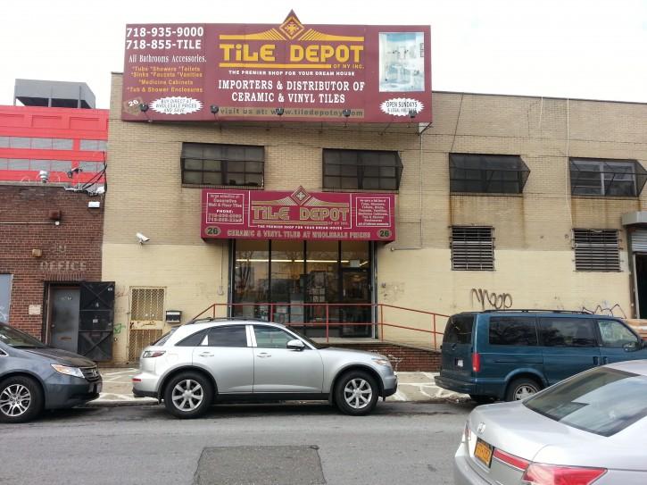 Tile Depot. Photo: Courtesy
