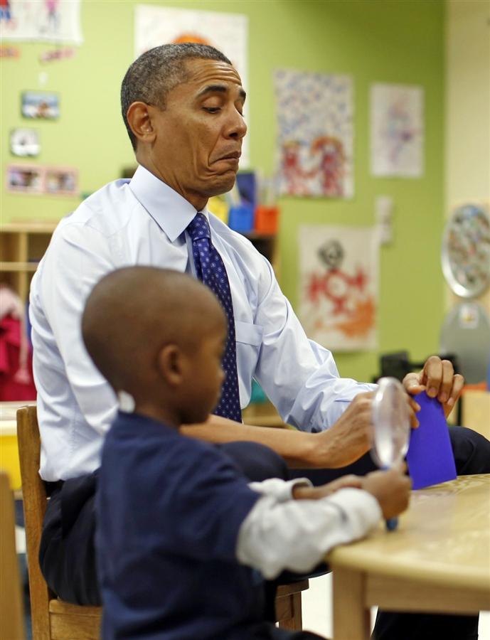 Child Barack Obama Decatur, GA - Obama: M...