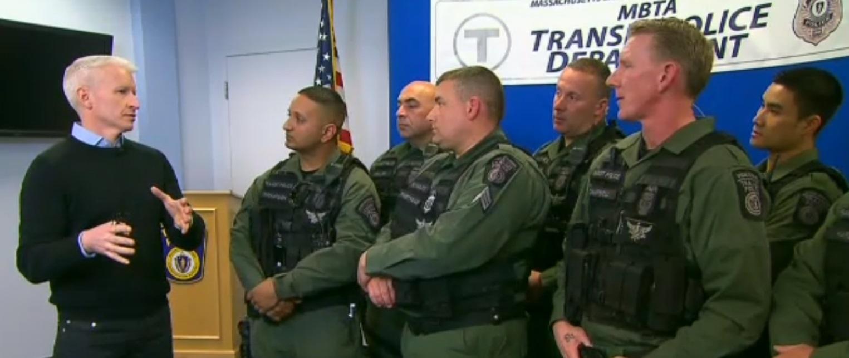 Boston Inside Boston Manhunts End Game Members Of The Swat Team