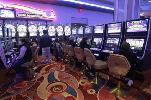 File photo of Aqueduct casino / MARY ALTAFFER/AP