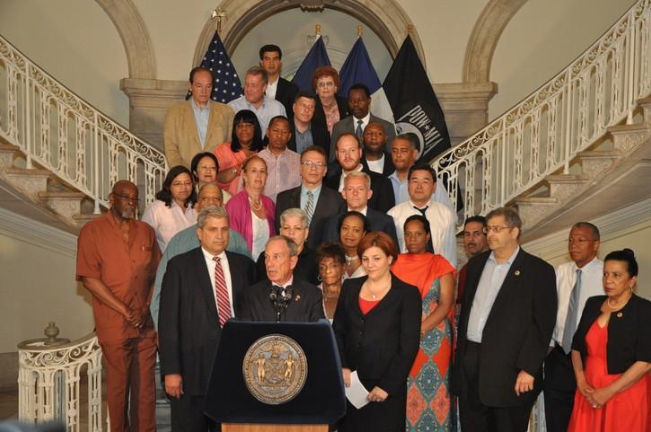 New York Ny Mayor Bloomberg Council Agree On 70b Budget Plan