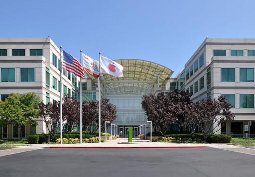 Company headquarters on Infinite Loop in Cupertino, California. (Photo Credit: Wikipedia)
