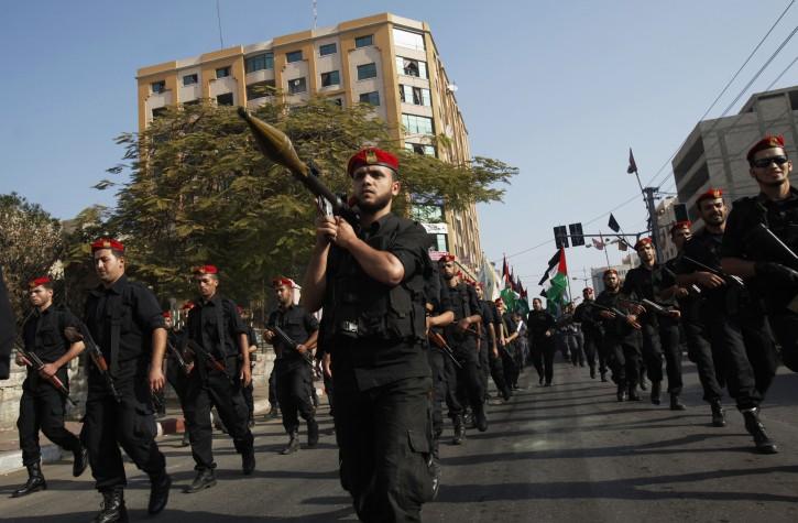 Gaza - Hamas Marks Anniversary Of 2012 Israel Conflict