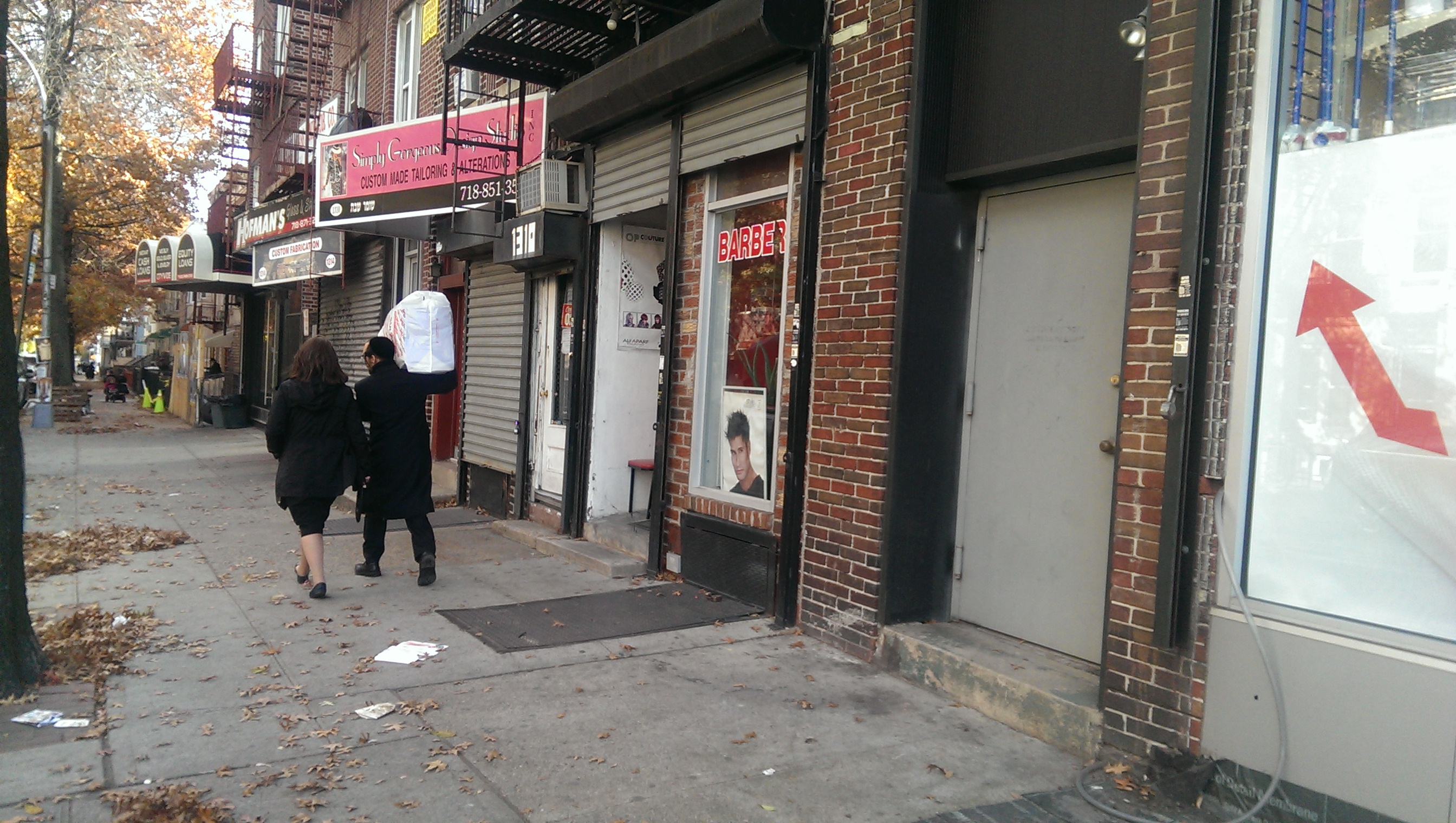 Barber Shop Brooklyn : . 10 , 2013, near the barber shop in Borough Park section of Brooklyn ...