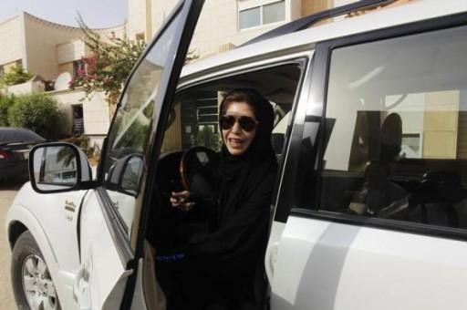 Reuters FIle - Female driver