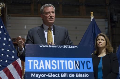 File Photo Credit: Rob Bennett for the Office of Mayor-elect Bill de Blasio