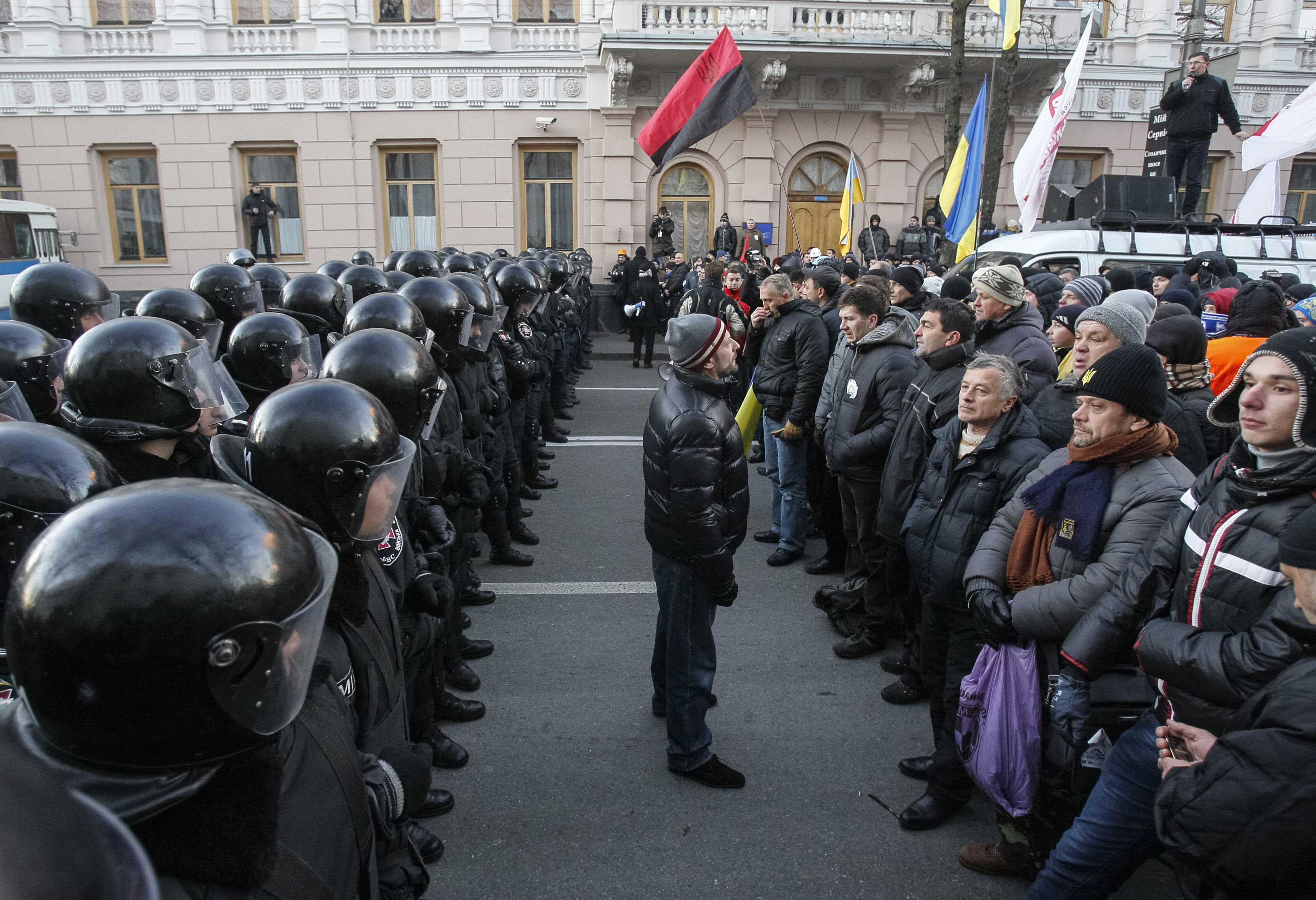 Kiev - Ukrainian Jews Split On Dangers Of Protest Movement