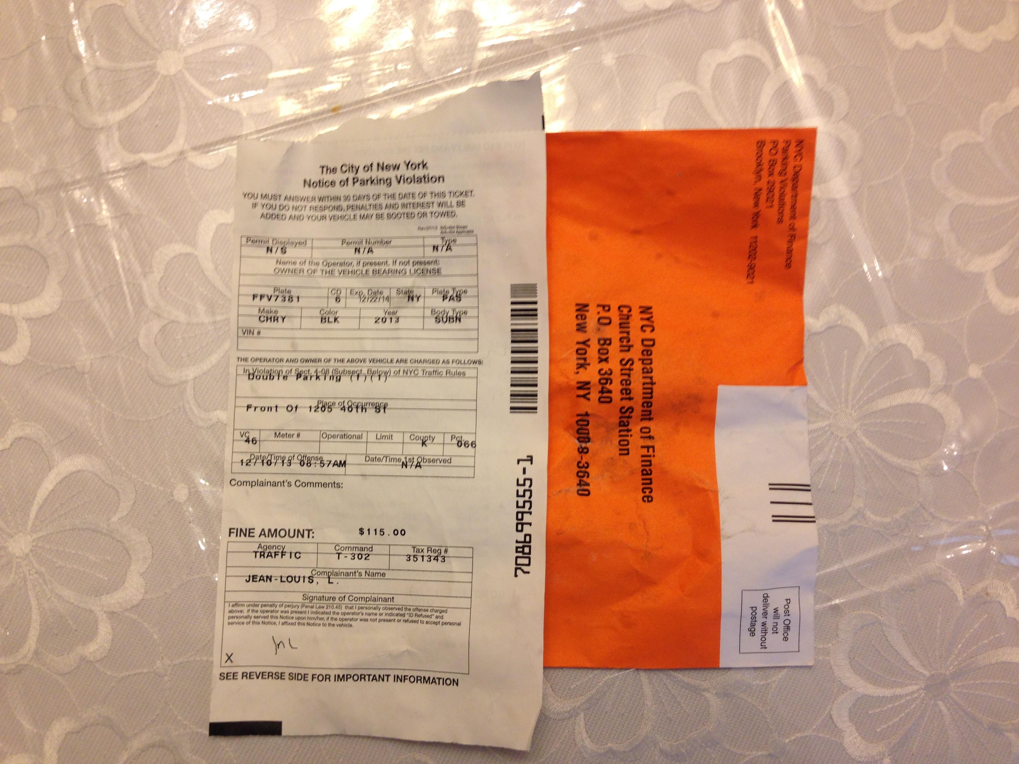Brooklyn NY Ticket Happy NYPD Traffic Agents Take Advantage As