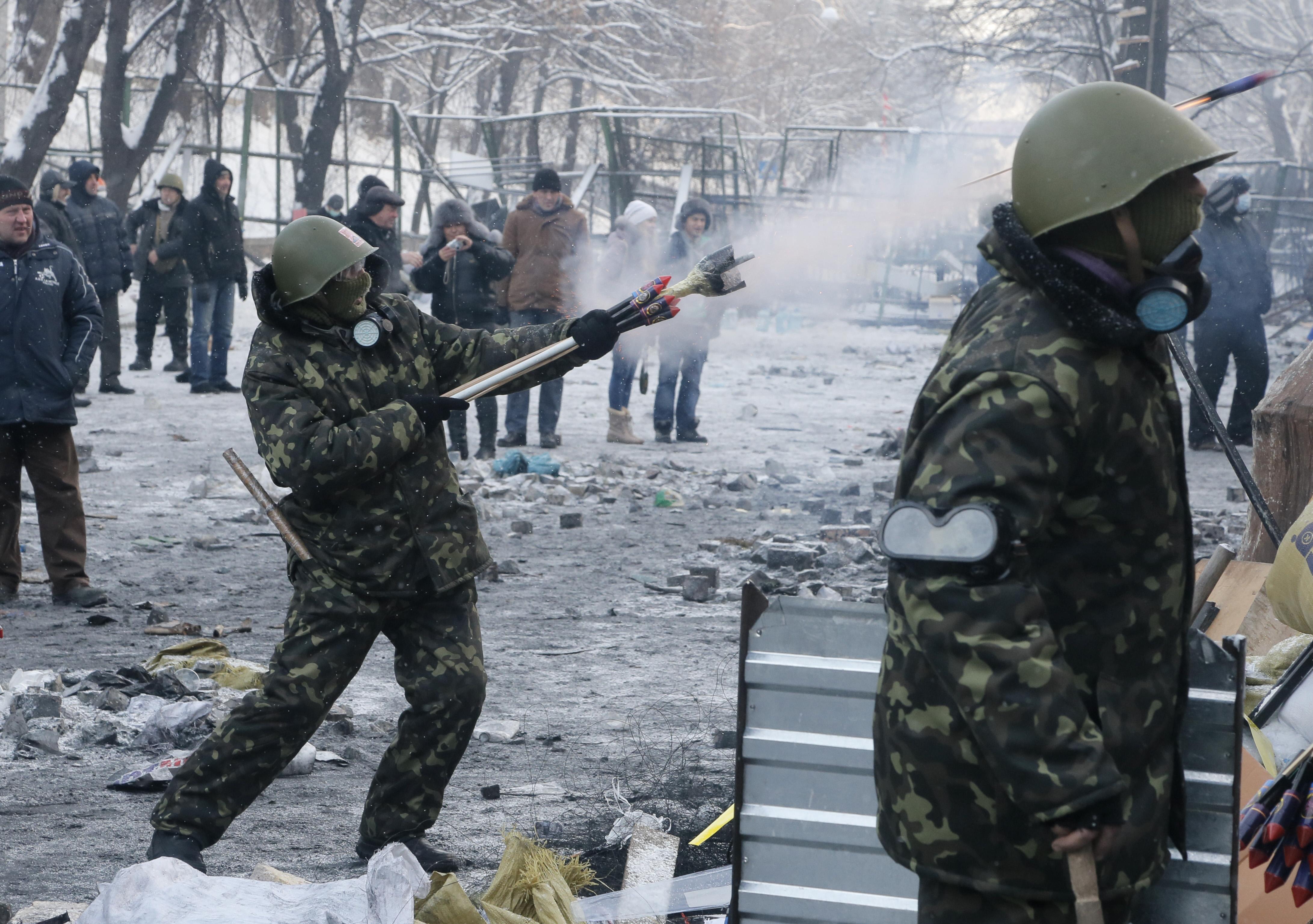 Kiev, Ukraine - Tensions In Ukraine Spreads To Lviv ...