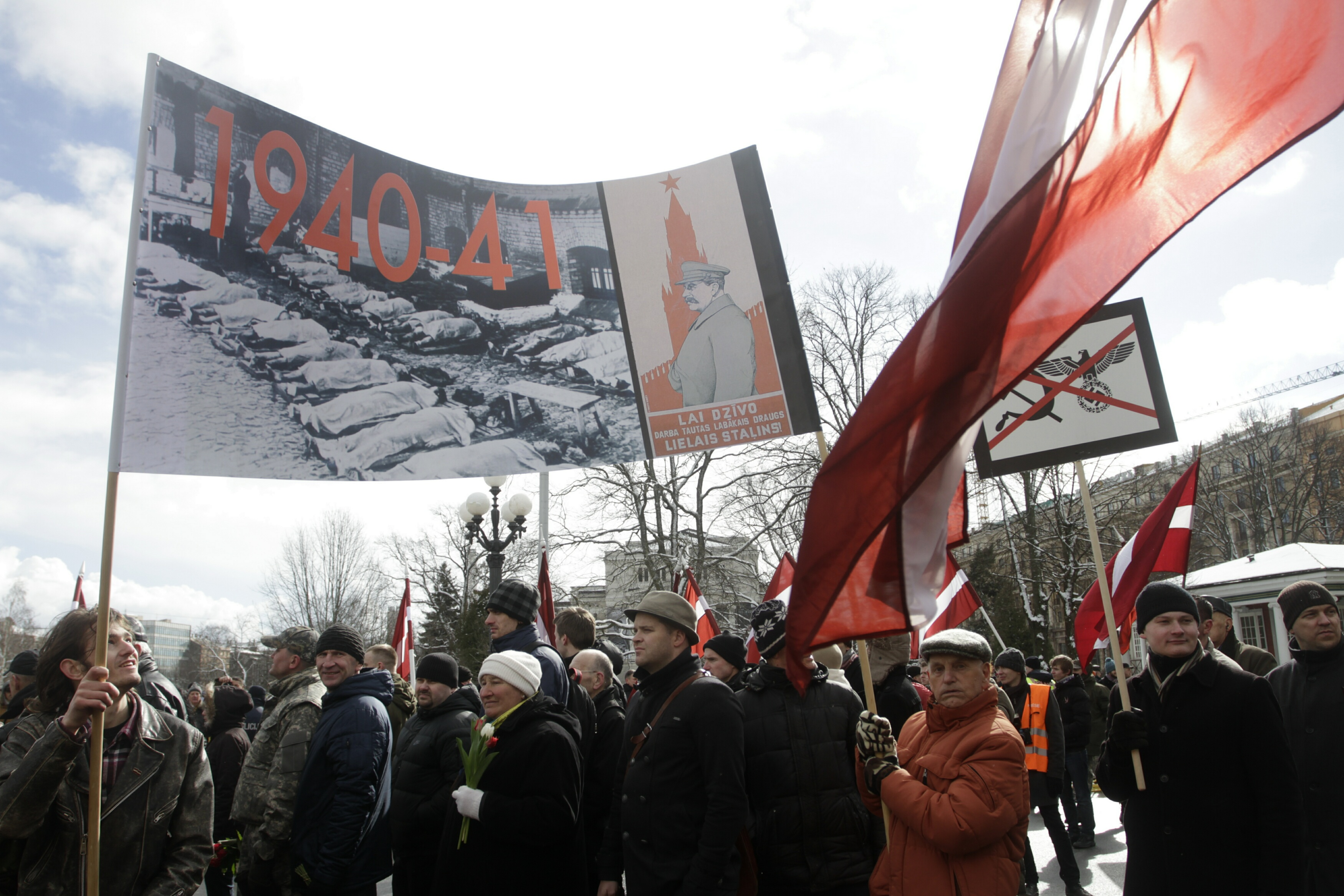 Riga, Lavia - Latvians Honor Nazi Allies From WWII