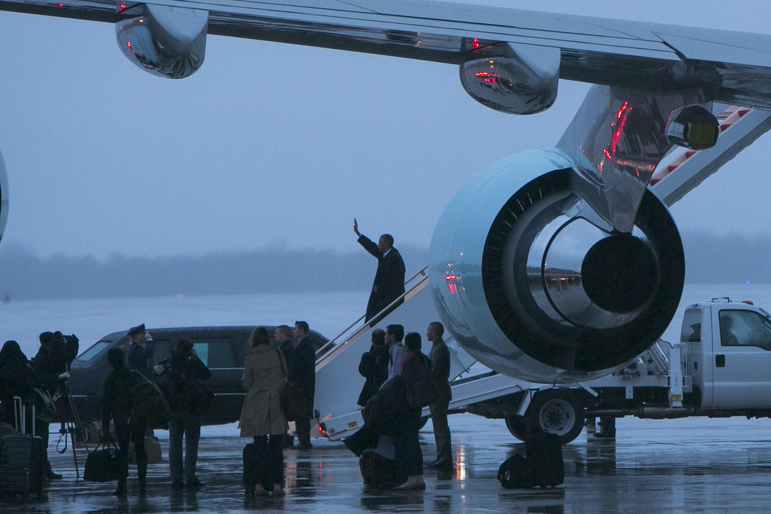 Washington - Obama Returns To White House From Overseas Travels