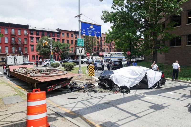 Brooklyn, NY - One Dead In Brooklyn–Queens Expressway Crash on new york avenue monopoly, new york avenue cape may, new york avenue washington dc, boardwalk atlantic city,