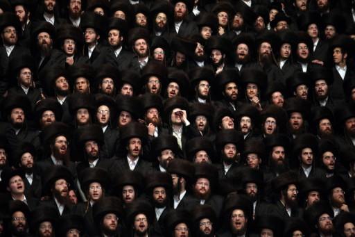 File photo of Beltz Hassidim in Jerusalem, Israel. EPA/ABIR SULTAN