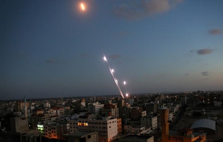 Israel – Palestinian Terrorists Fire Rockets At Israel On Sunday Night Near Gaza Border