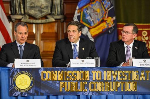 "File photo as Governor Cuomo appoints Moreland ""Commission to investigate public corruption""  July 2, 2013. (Photo Credit Gov. Cuomo Photo Stream)"