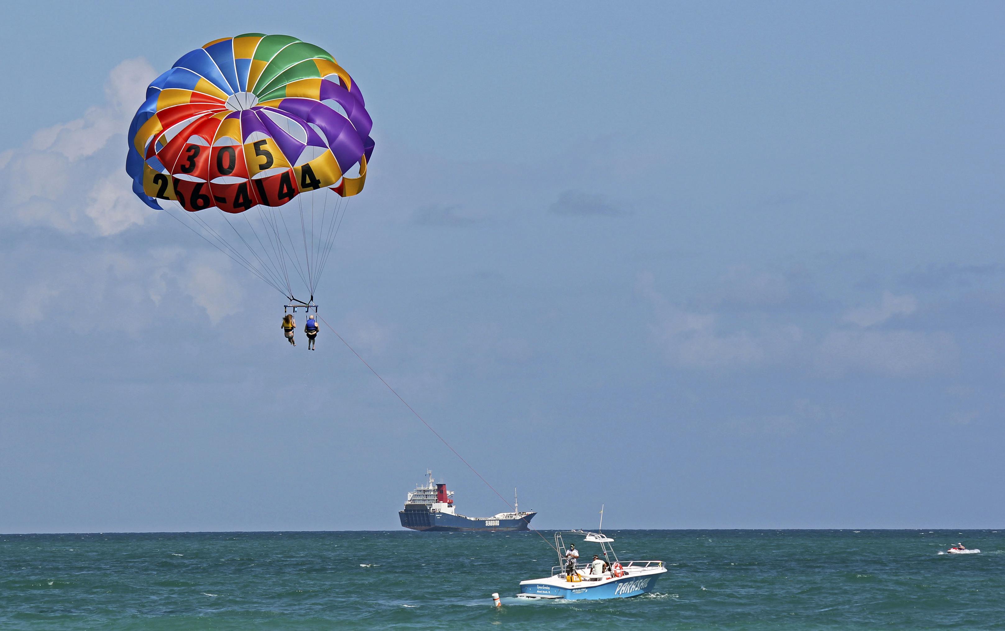 Panama City Beach Florida Parasailing Accident July