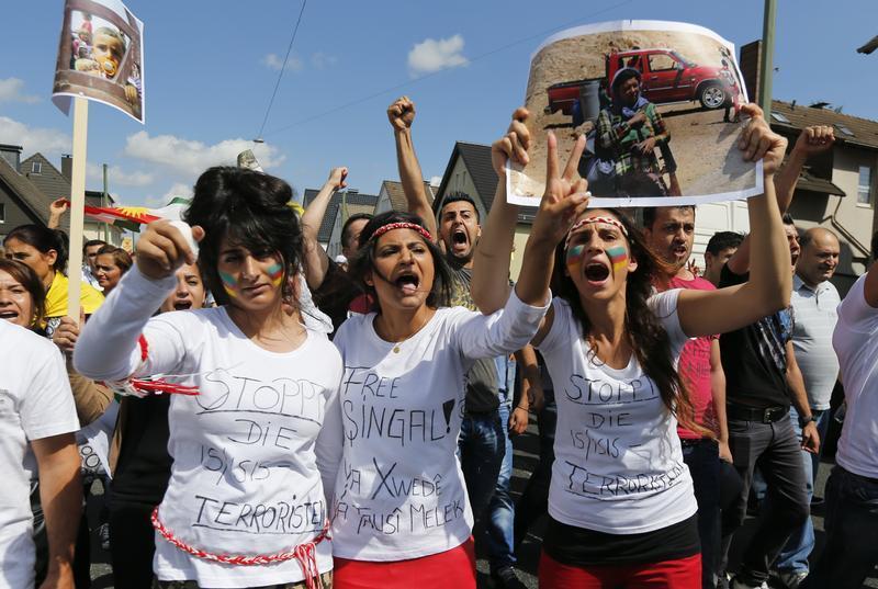 Yazidi People Baghdad - Islamic Stat...