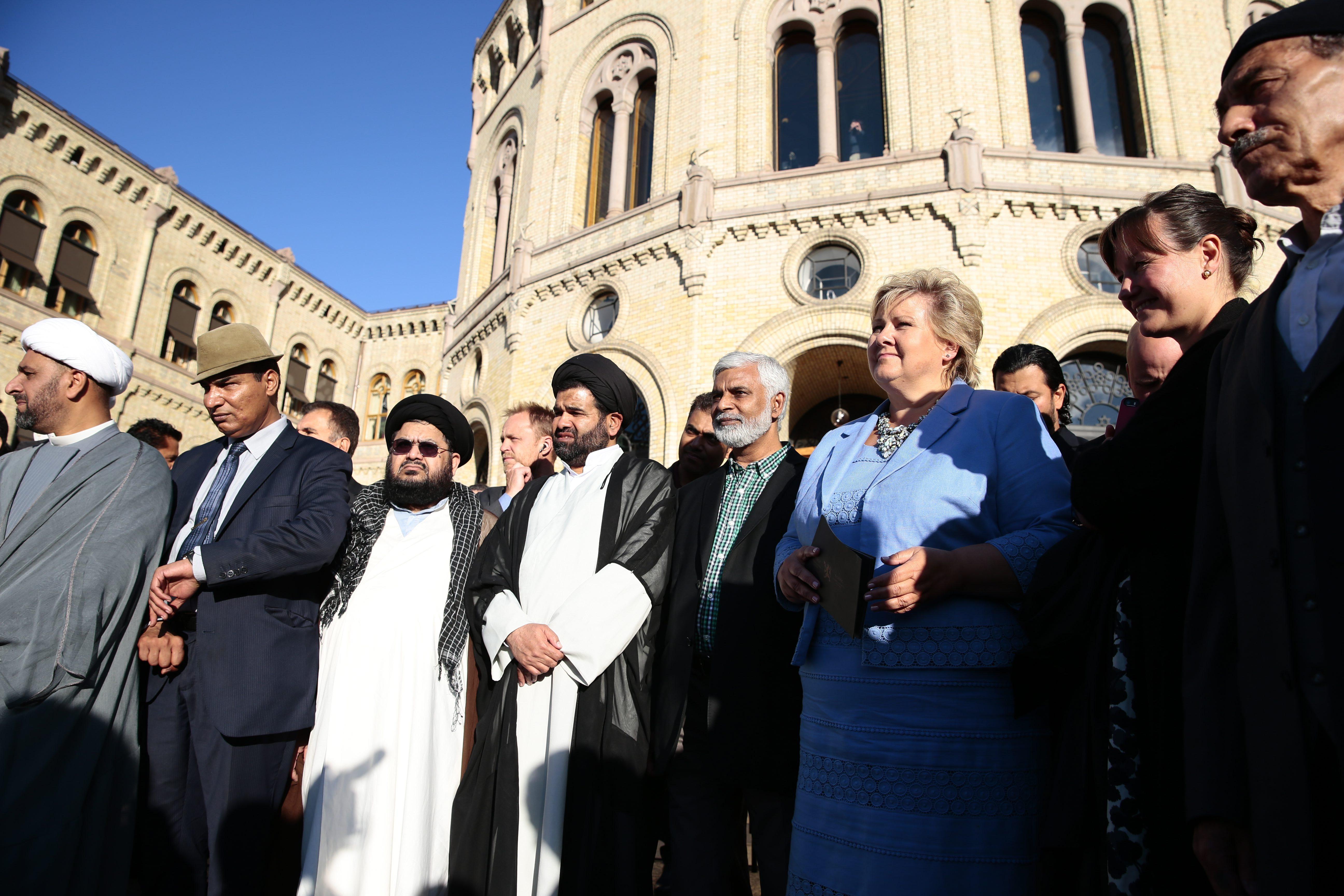 Islam In Norway: Norwegian Muslims Rally Against Islamic Militants