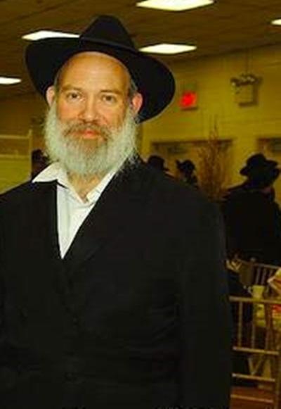 Undated photo provided by CrownHeightsinfo of Rabbi Raksin