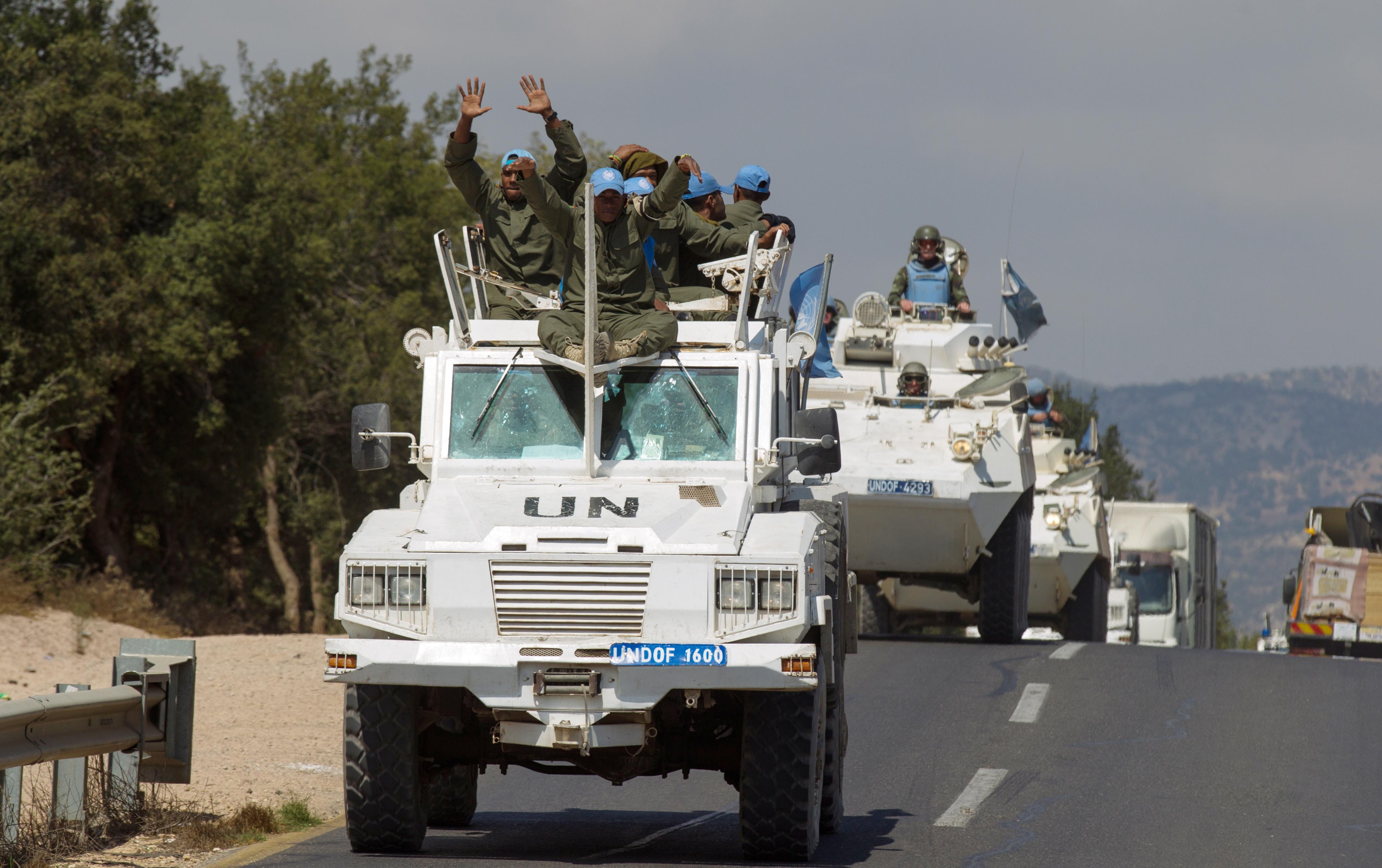 Командир миссии ООН на Голанах умер в Эйлате от инфаркта