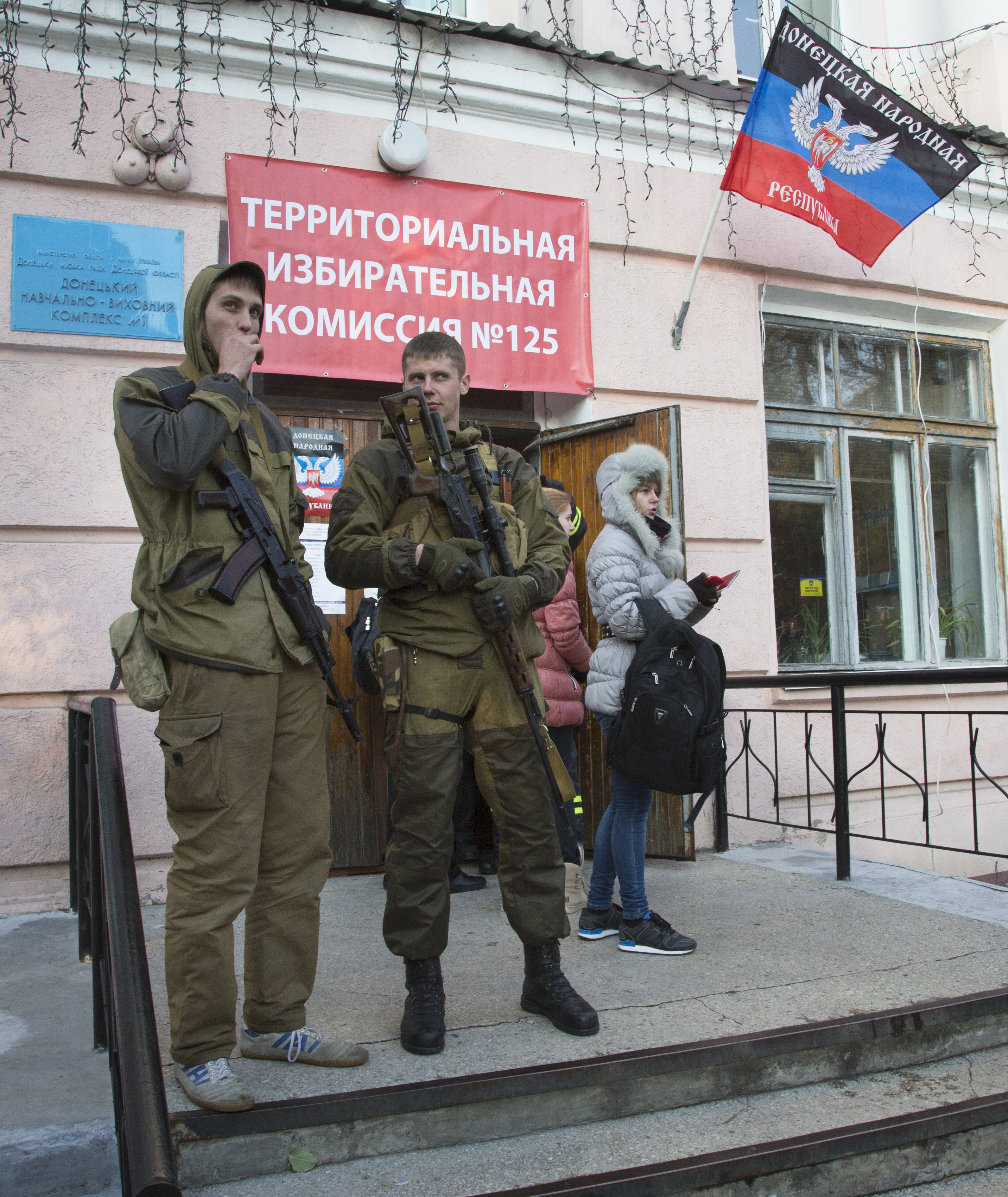 In Ukraine Polls Pro Russian 73
