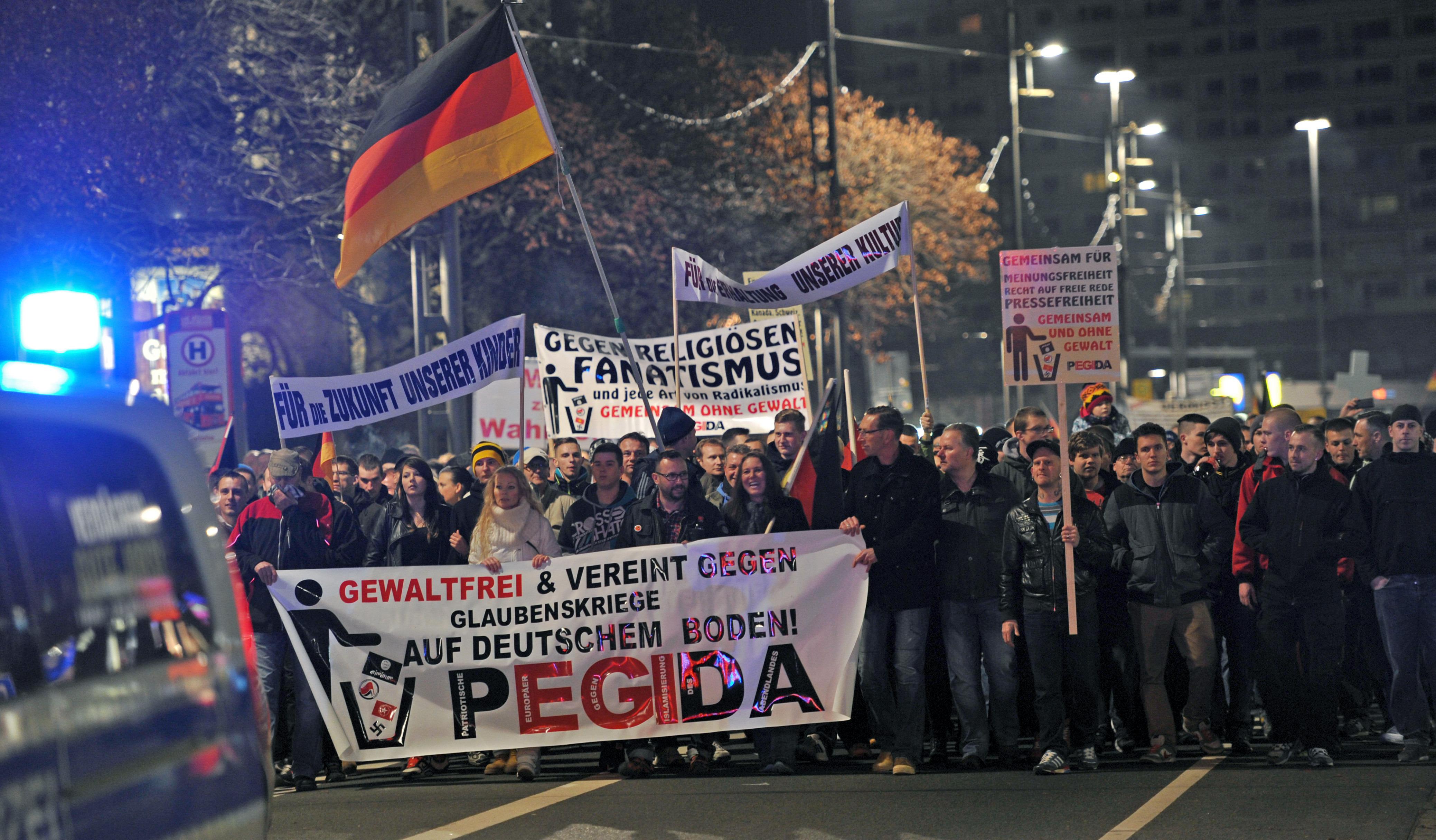 Dresden, Germany - PEGIDA's Anti-Muslim Calls Shake Up ...  Dresden, German...
