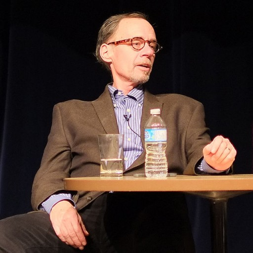 FILE - David Carr speaks at the PuSh International Performing Arts Festival at Capilano University, in North Vancouver, BC. Feb. 3, 2013
