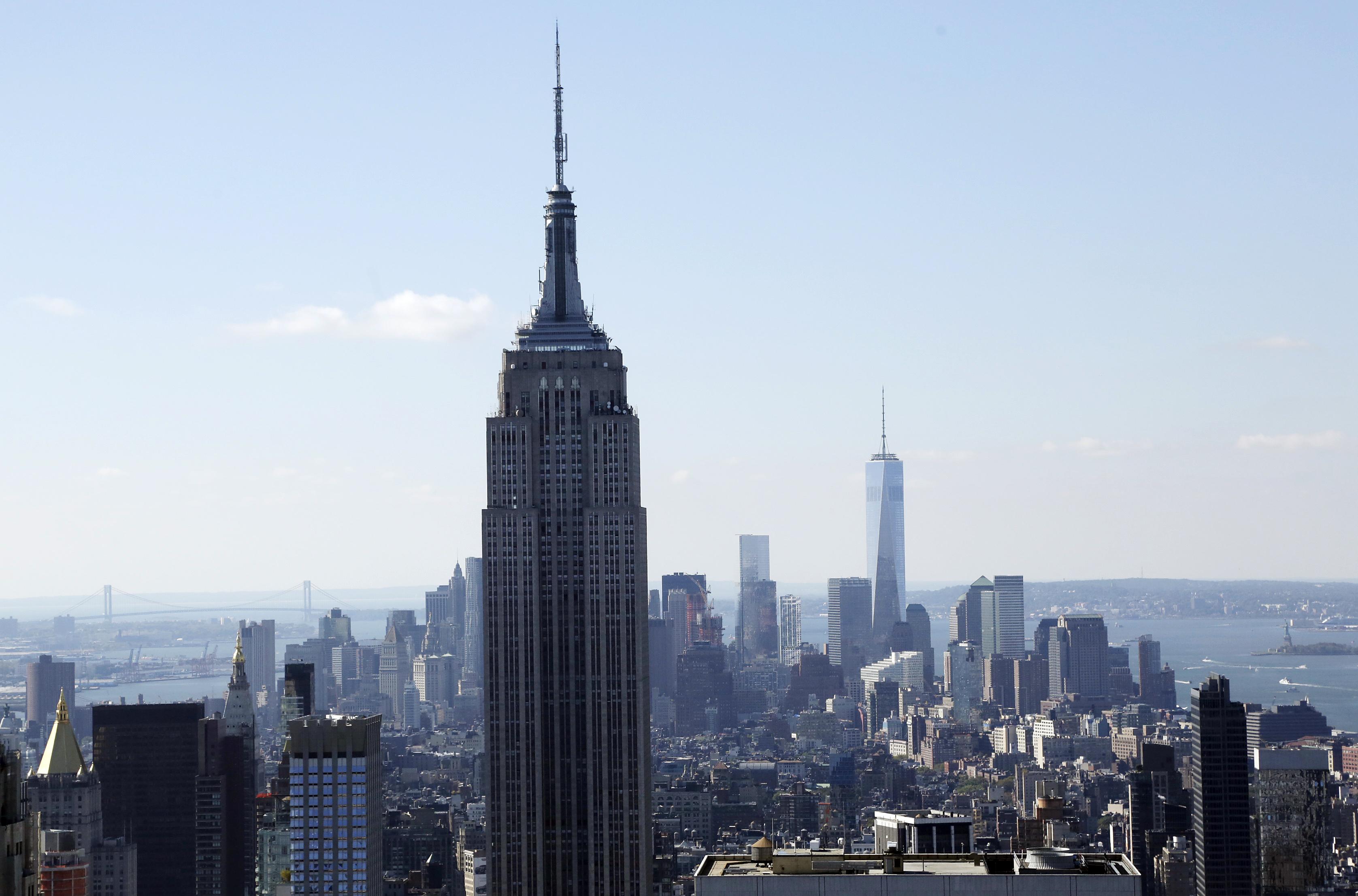 New York City Skyline 2015