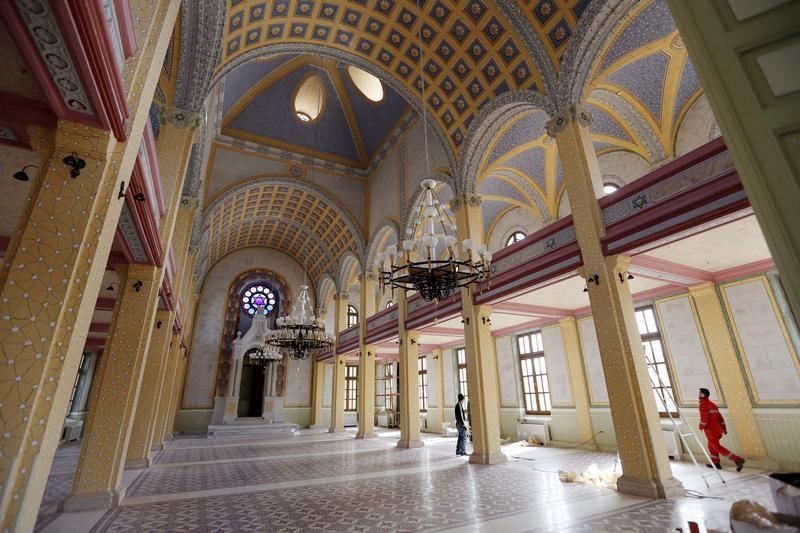 Edirne, Turkey - Turkey Unveils Great Synagogue As Jewish ...