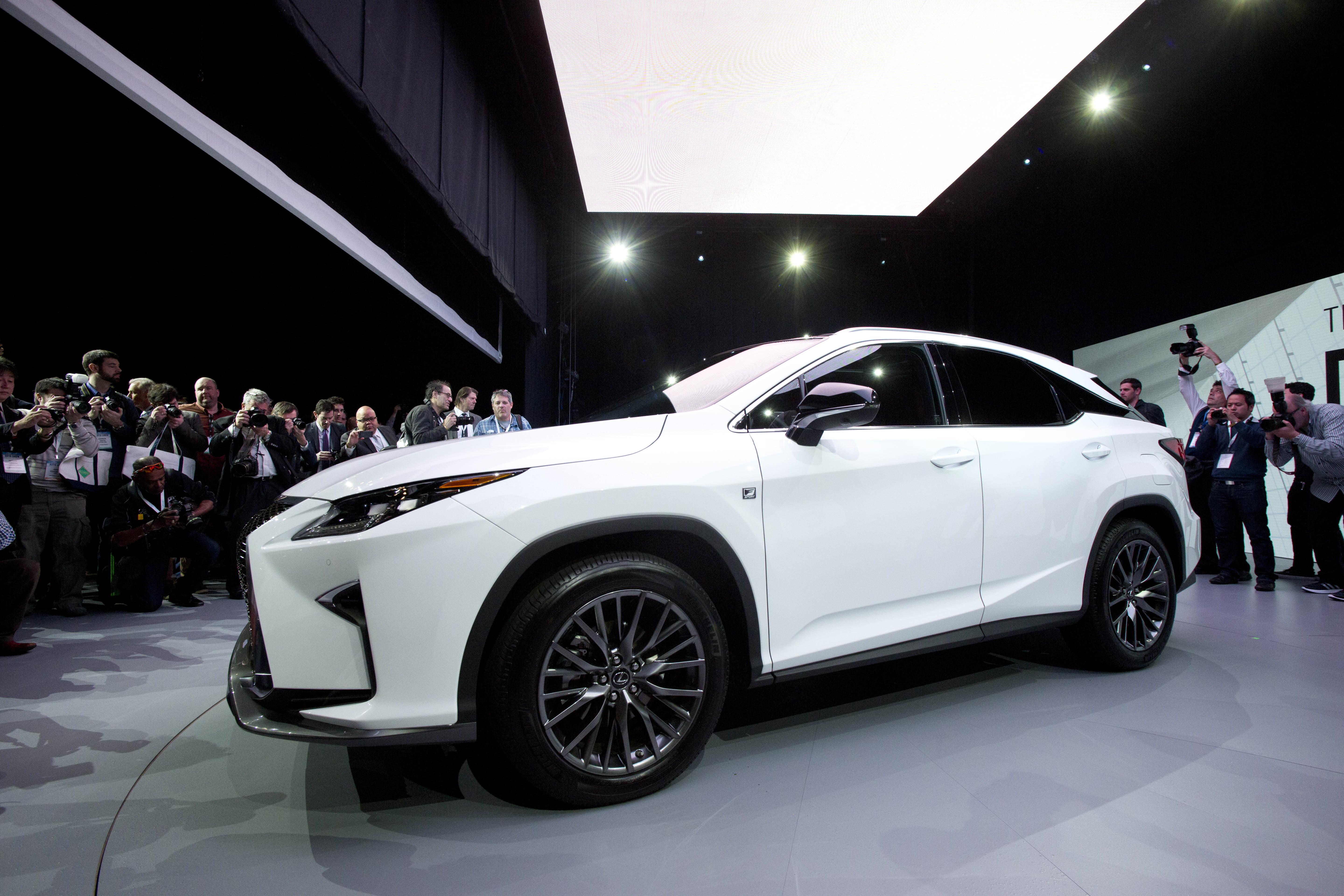 The 2016 Lexus RX is introduced at the New York International Auto ...