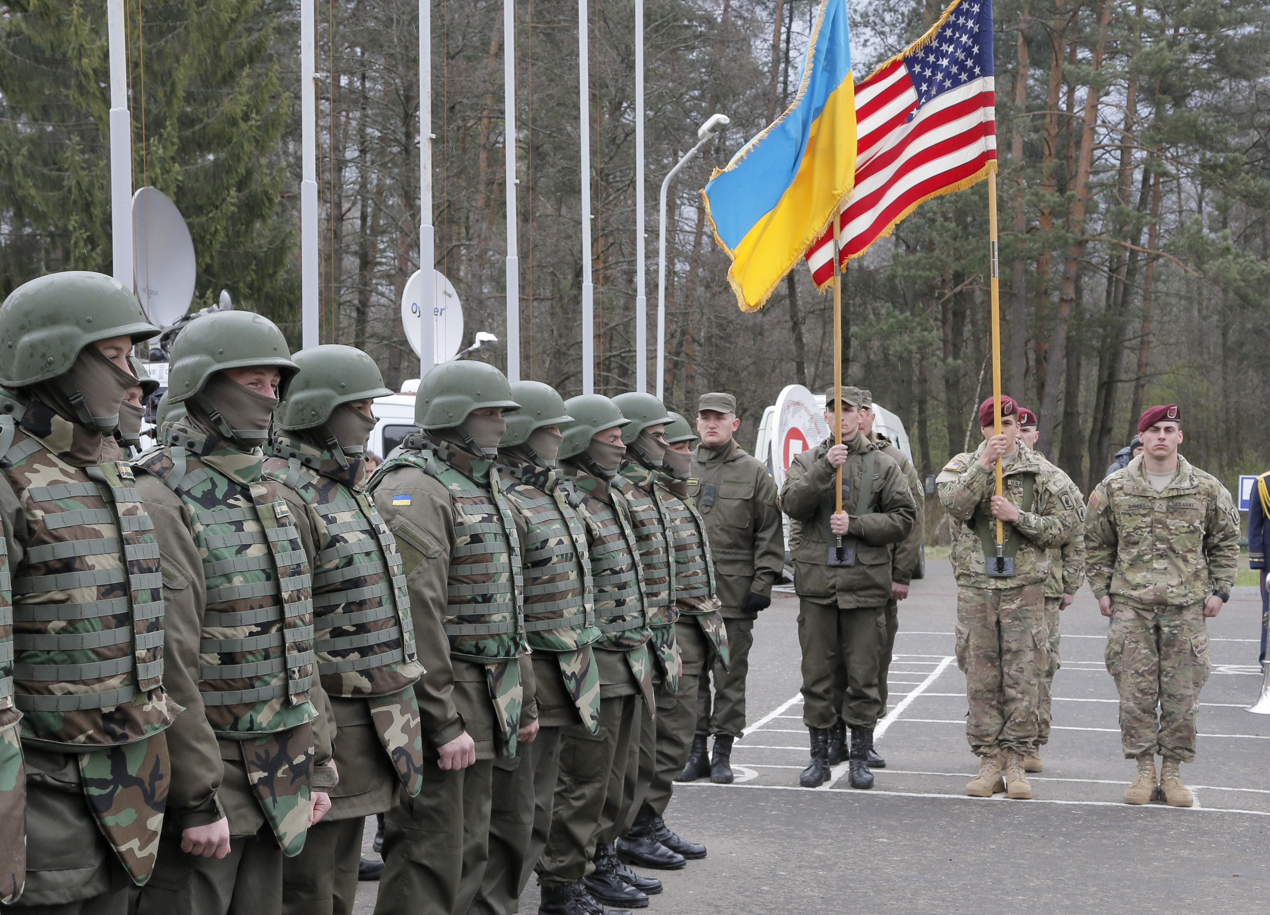 Training Ukrainians 33