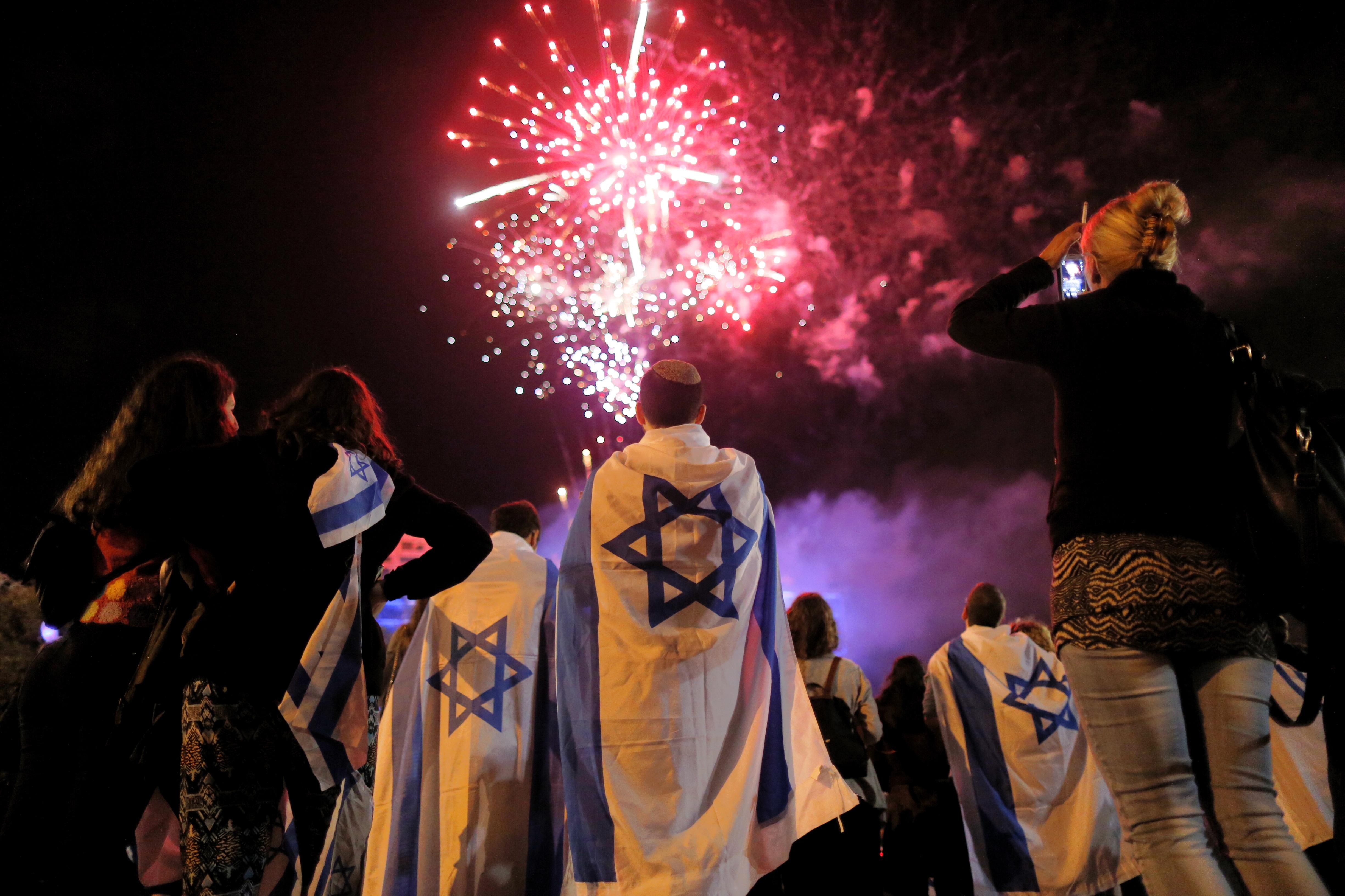 Jerusalem Israel Celebrates 67 Years Of Independence