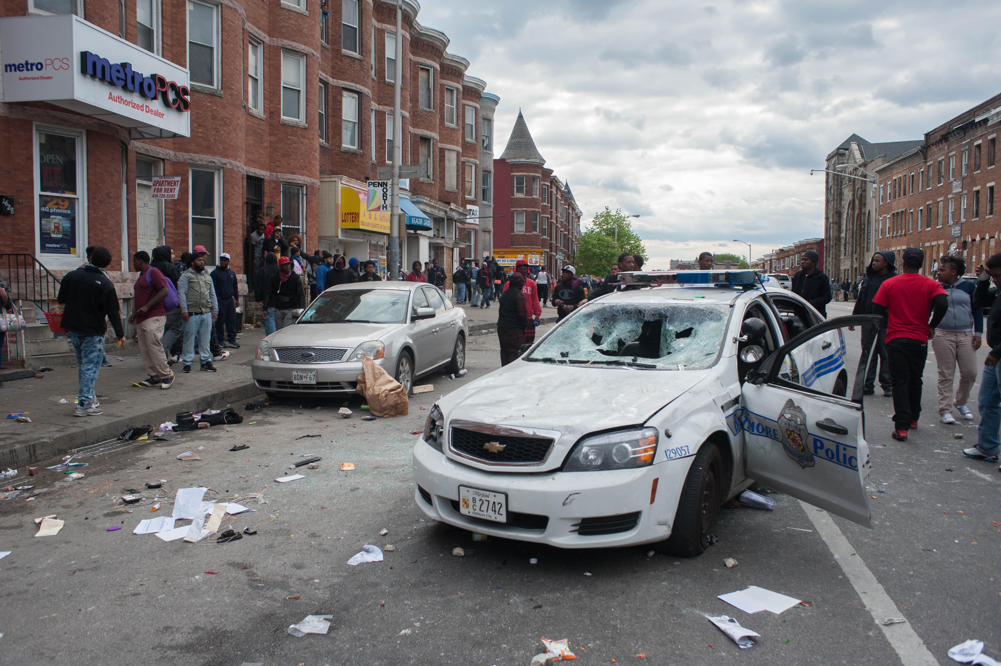 Abandoned Car Baltimore City