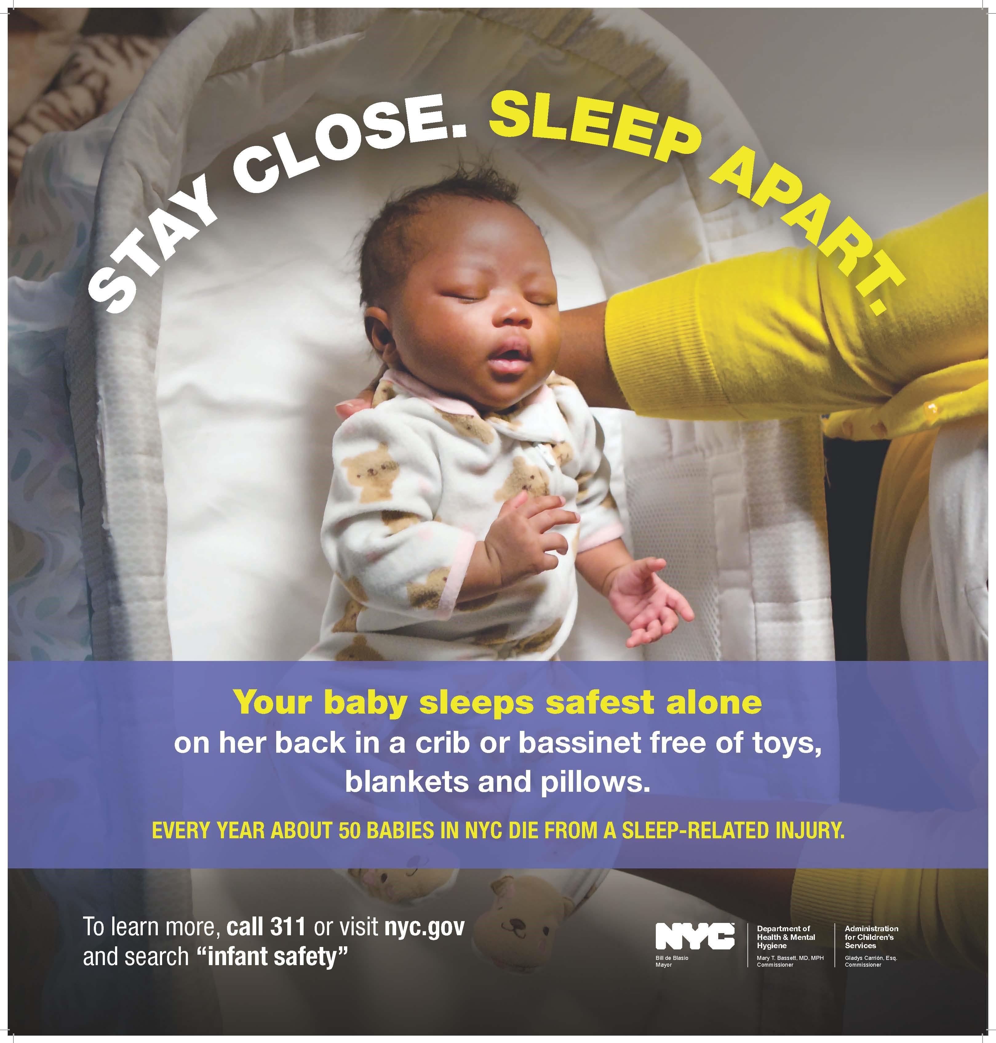 New York Ny Nyc Announces Safe Sleep Campaign To Reduce