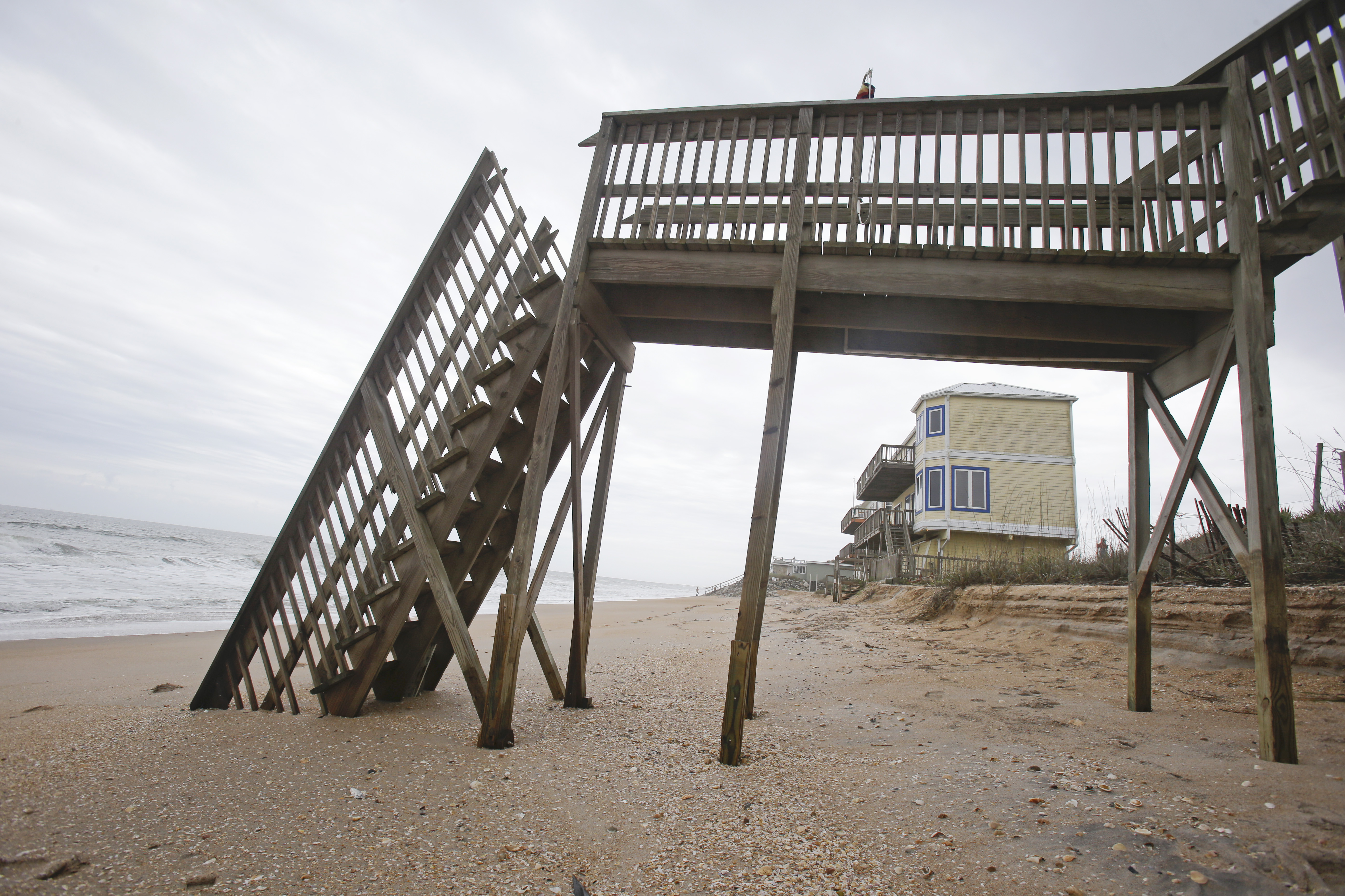 Marvelous 4, 2015 Photo, Beach Access Stairs Are Seen