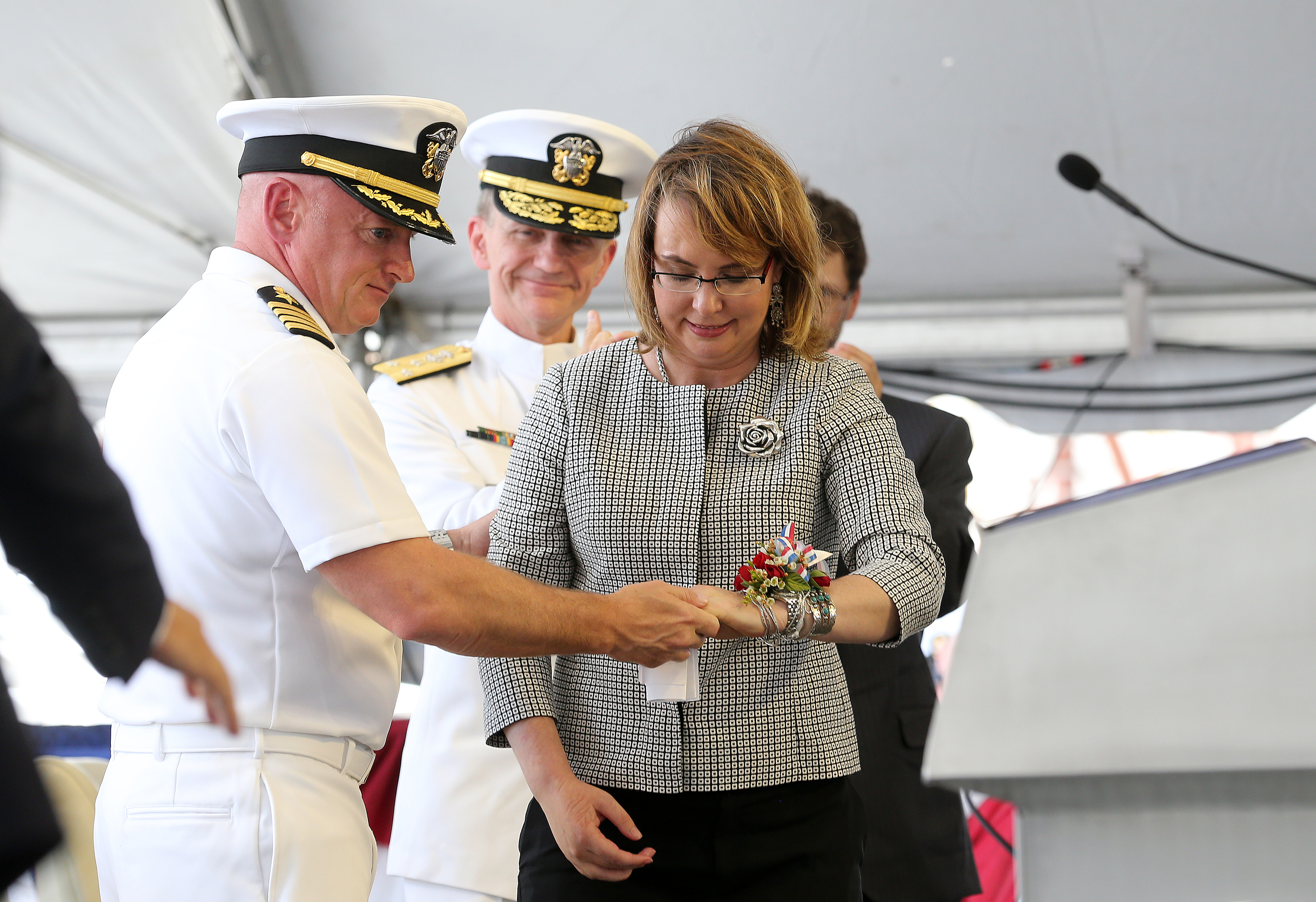 Alabama - Navy Names Ship For Former US Rep  Gabby Giffords