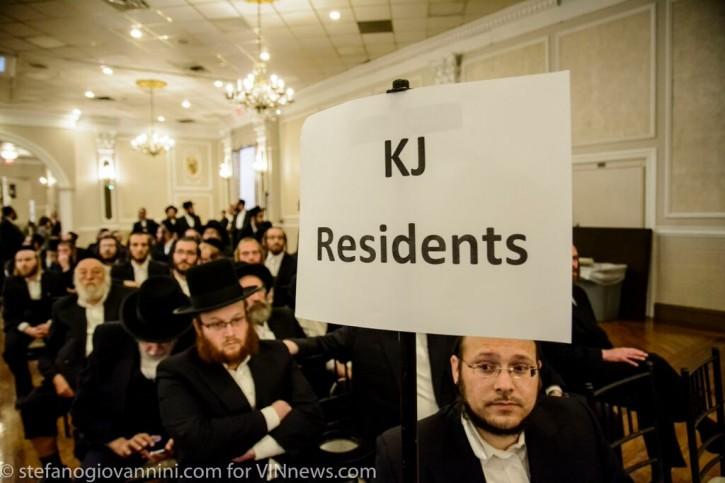 Residents of Kiryas Joel