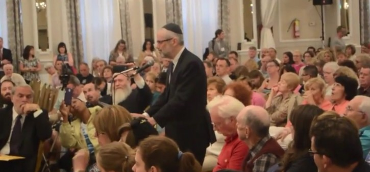 Rabbi Chaim Dovid Zwiebel, executive director of Agudath Israel of America