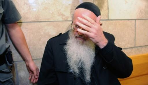 FILE - Rabbi Yaakov Deutsch in court. Photo by Gil Eliyahu
