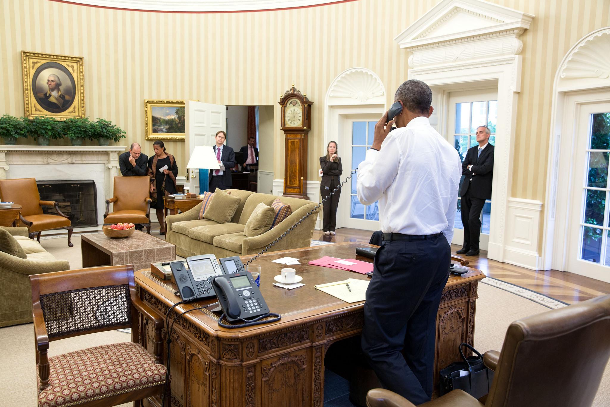 Washington Obama Phoned Saudi King Salman To Discuss