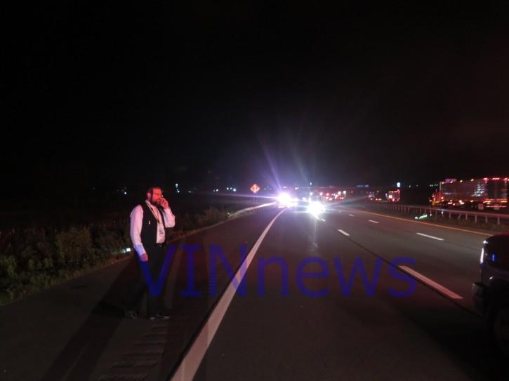 New York state law enforcement Chaplain Abe Friedman on scene (VINnews.com)