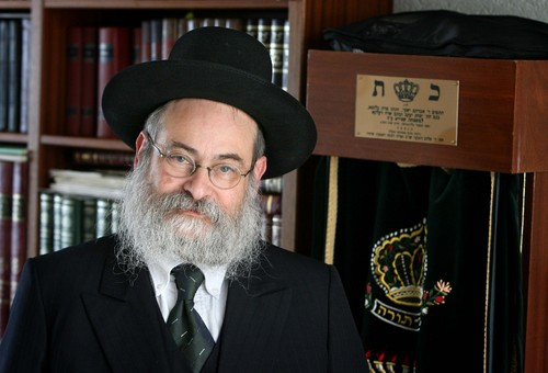Rabbi Binyomin Jacobs (Meshulam/Wikipedia)