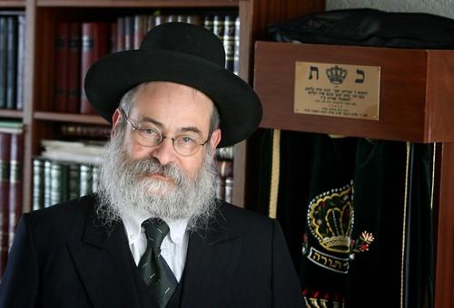 Rabbi Binyomin Jacobs (Photo credit: Meshulam/Wikipedia)