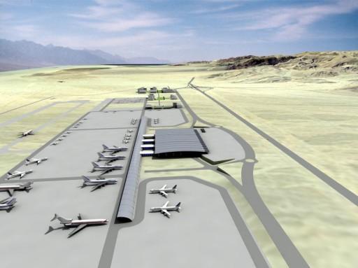 New Israeli airport at Timna