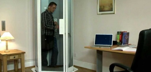 London – Star Trek-Style Home Elevator Could Replace Stairlifts