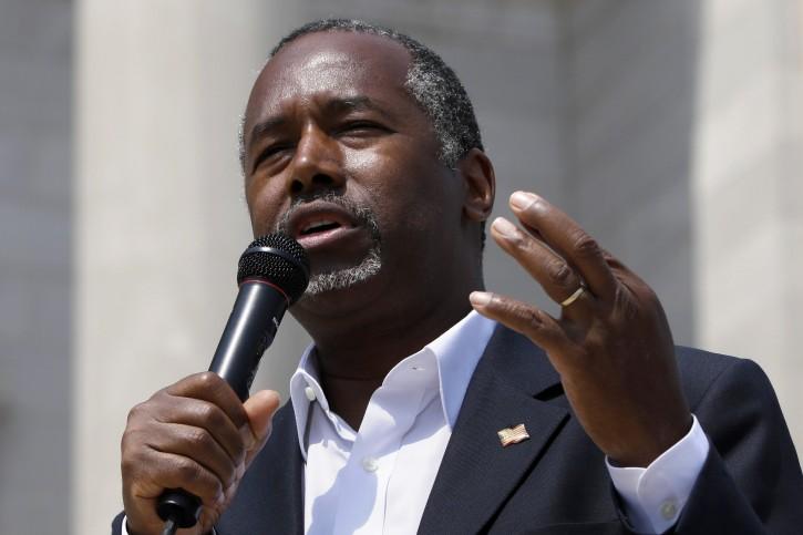 Washington – Ben Carson Campaign Reaping Cash As He Rises In GOP Polls