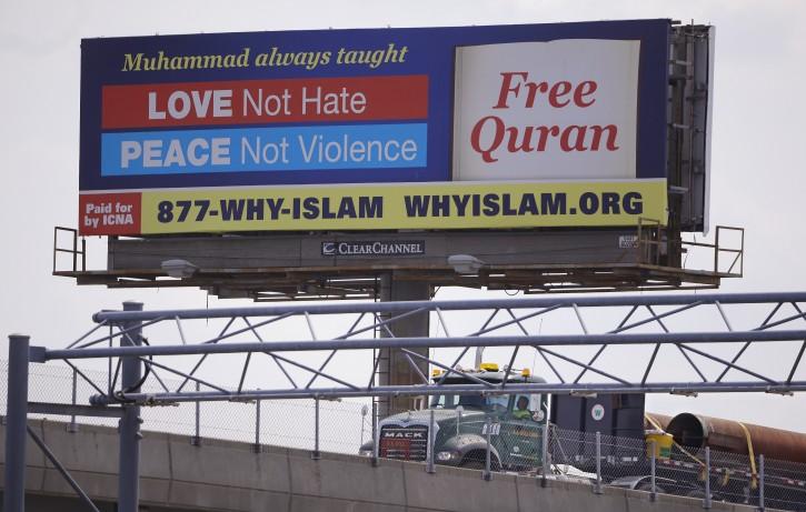 Boston – US Muslims Hope New Billboards Reclaim Islam's Message