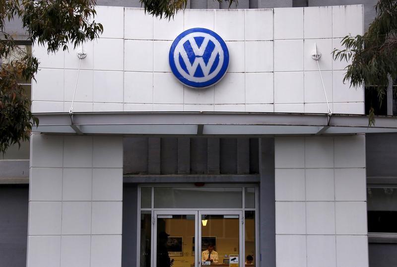 Berlin German Prosecutors Raid Volkswagen Offices
