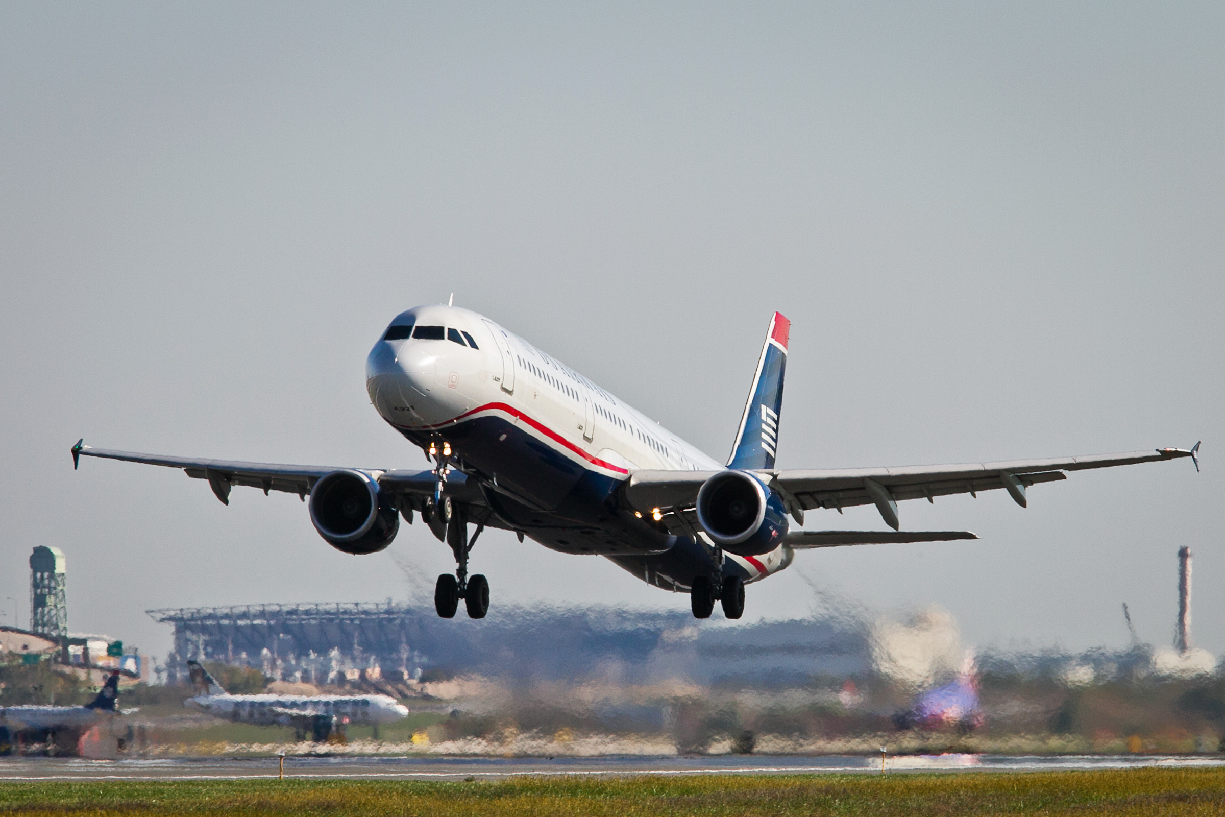 Philadelphia Final Us Airways Flight Completes Journey